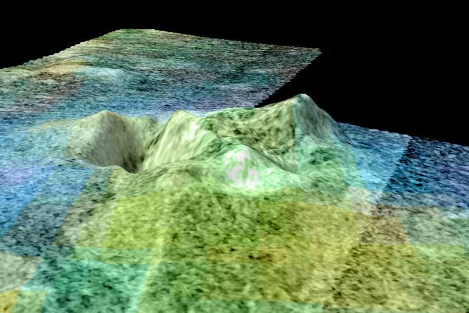 Flyover of Sotra Facula, Titan