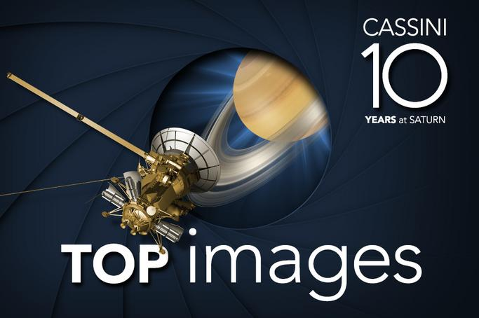 Cassini 10 Images From 10 Years at Saturn