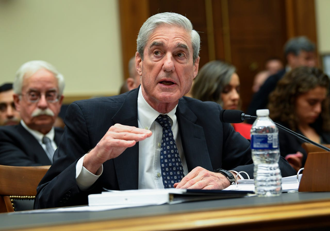 2019-07-24: Former Special Counsel Robert S. Mueller, III testifies to House Judiciary Committee on 'Oversight of the Report on the Investigation into Russian Interference in the 2016 Presidential Election' on July 24, 2019.