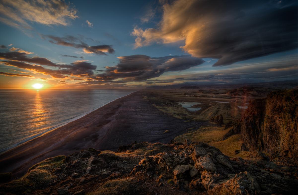 Mari Wirtal - Black Sand Beach on South Coast of Iceland - EPOD